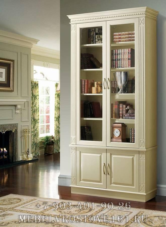 Верди люкс библиотека 3: элитная мебель в москве.